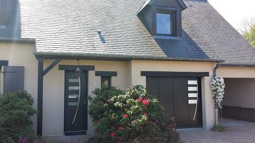 Changement : portail - porte de garage - porte d''entrée