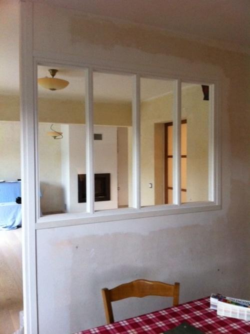 Fenêtre verrière bois - Paimpol