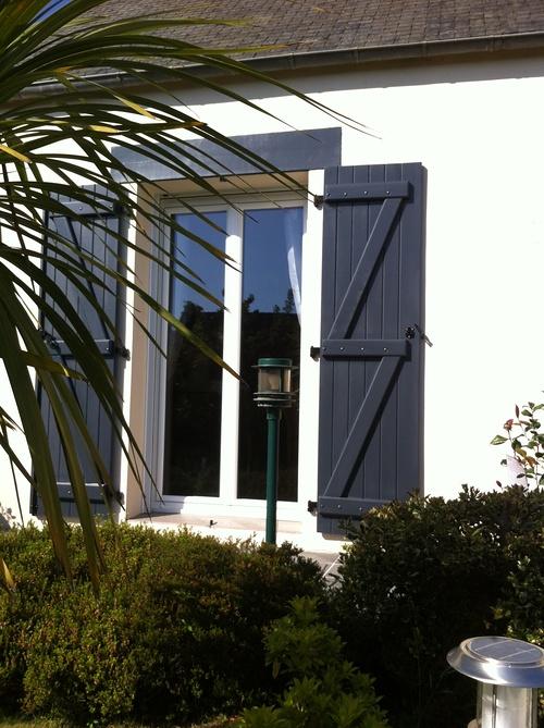 Porte- fenêtre PVC - Rénovation menuiserie Ploufragan