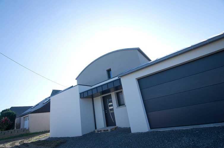 Menuiseries construction maison contemporaine - Pordic (22) dsc1766