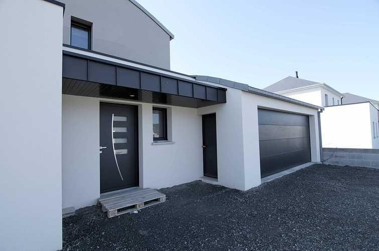 Menuiseries construction maison contemporaine - Pordic (22) dsc1770