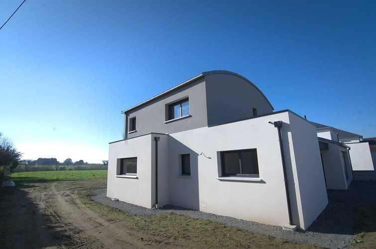 Menuiseries construction maison contemporaine - Pordic (22) dsc1772