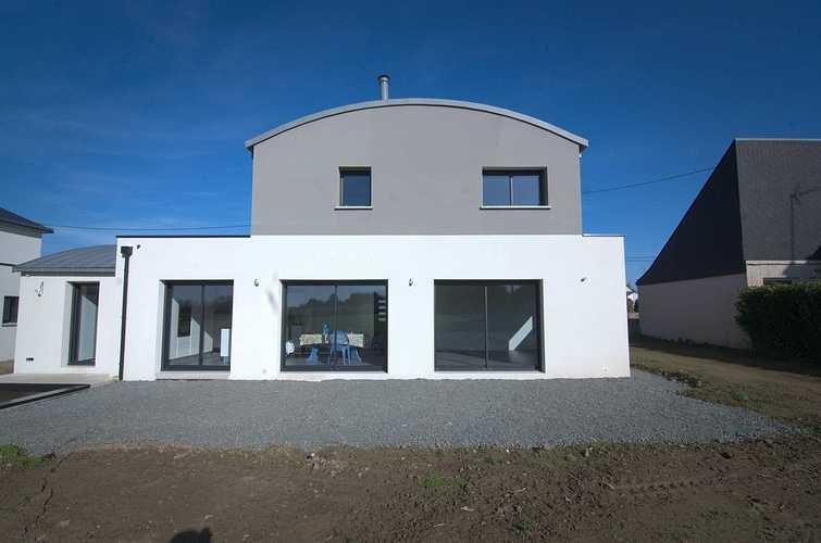 Menuiseries construction maison contemporaine - Pordic (22) dsc1775
