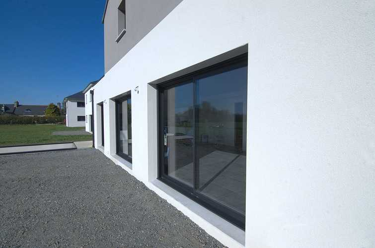 Menuiseries construction maison contemporaine - Pordic (22) dsc1776