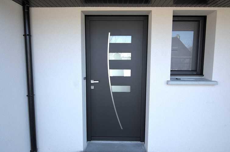 Menuiseries construction maison contemporaine - Pordic (22) dsc1777