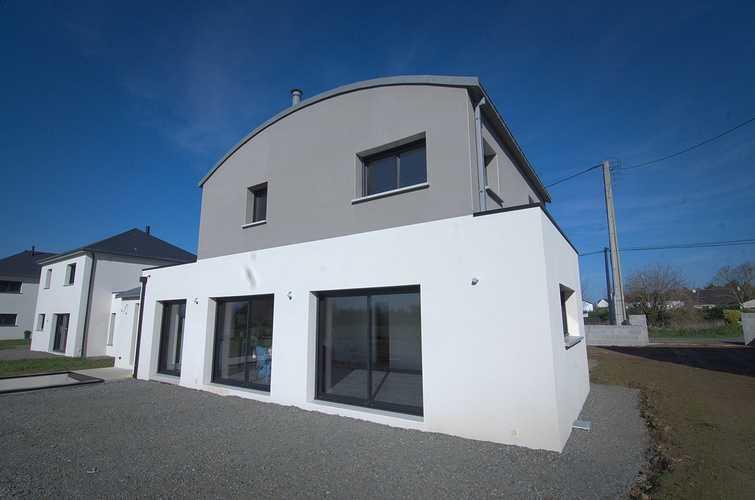 Menuiseries construction maison contemporaine - Pordic (22) 0