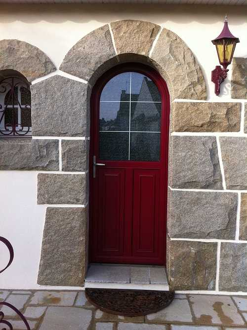 Portes d''entrée : esthétique, style, haute technicité et sécurité photo33